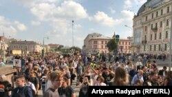 Шествие за свободные выборы. Москва. 31 августа 2019.