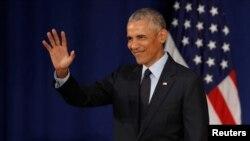 Prezidentlik dönəmi bitəndən bəri ilk dəfədir ki, Prezident Obama hazırkı siyasi proseslər haqda ətraflı çıxış edir.