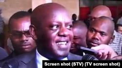 David Simango, ex-presidente do Conselho Municipal de Maputo (screen shot, STV)