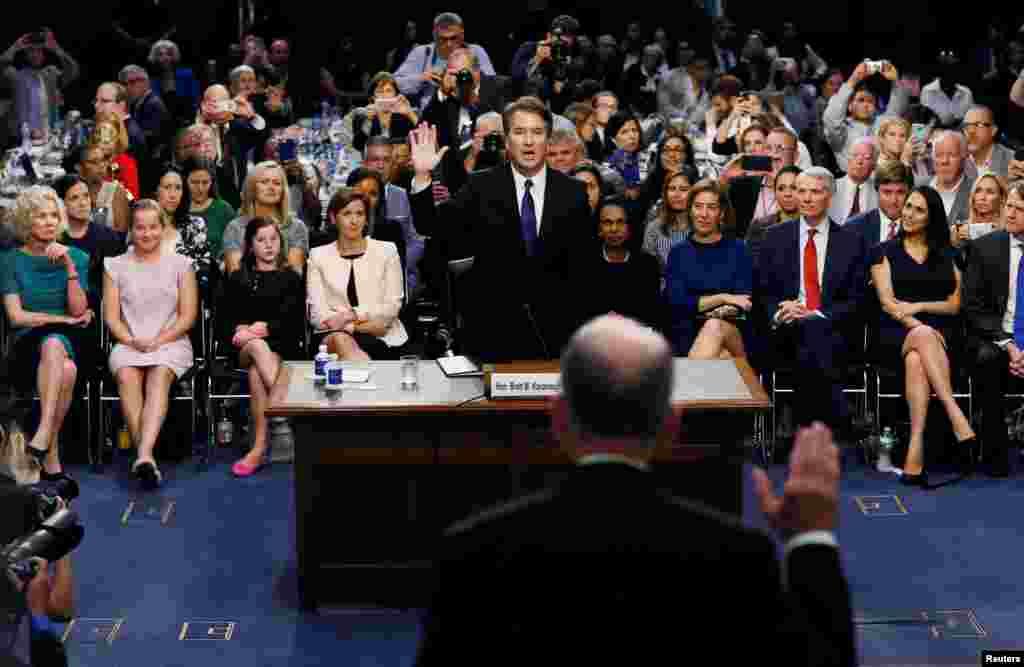 بررسی صلاحیت قاضی کاوانا برای عضویت در دیوانعالی آمریکا