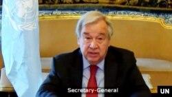 Generalni sekretar UN-a Antonio Guteres