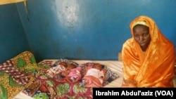 Malama Maryam Matar Da Ta Haifi 'Yan Uku Mai Gidanta Ya Gudu