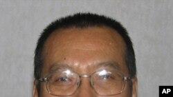 身在獄中的本屆諾貝爾和平獎得主劉曉波(資料圖片)