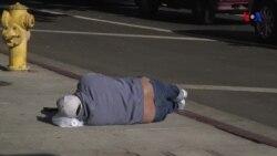 Aumenta drásticamente el número de desamparados en L.A.
