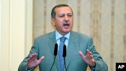 ترک وزیراعظم رجب طیب اردوان