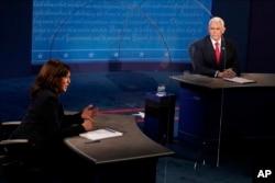 Vitse-prezidentlikka nomzodlar debati, Yuta universiteti, 7-oktabr, 2020