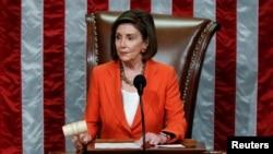 Nancy Pelosi ni we muyobozi w'inteko ishinga amategeko y'Amerika