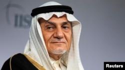 沙特亲王图尔基·费萨尔(Prince Turki al-Faisal。 档案图片。