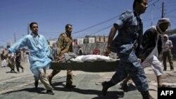 Йемен: расстреляна демонстрация; уничтожены террористы