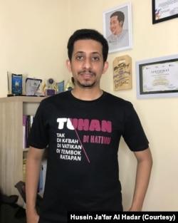 Husein Ja'far Al Hadar memilih lewat media digital dan media sosial. Ia juga aktif berdakwah bersama Majelis Lucu Indonesia dan Gerakan Islam Cinta. (Foto: Husein Ja'far Al Hadar/dokumen pribadi)