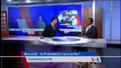 Washington Forum du 23 juillet 2015 : la crise continue au Burundi