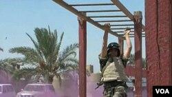 Trening iračke vojske južno od Bagdada