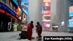 Sneg u Njujorku