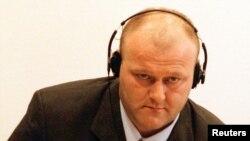 Vinko Martinović Štela u sudnici Međunarodnog krivičnog suda za bivšu Jugoslaviju.