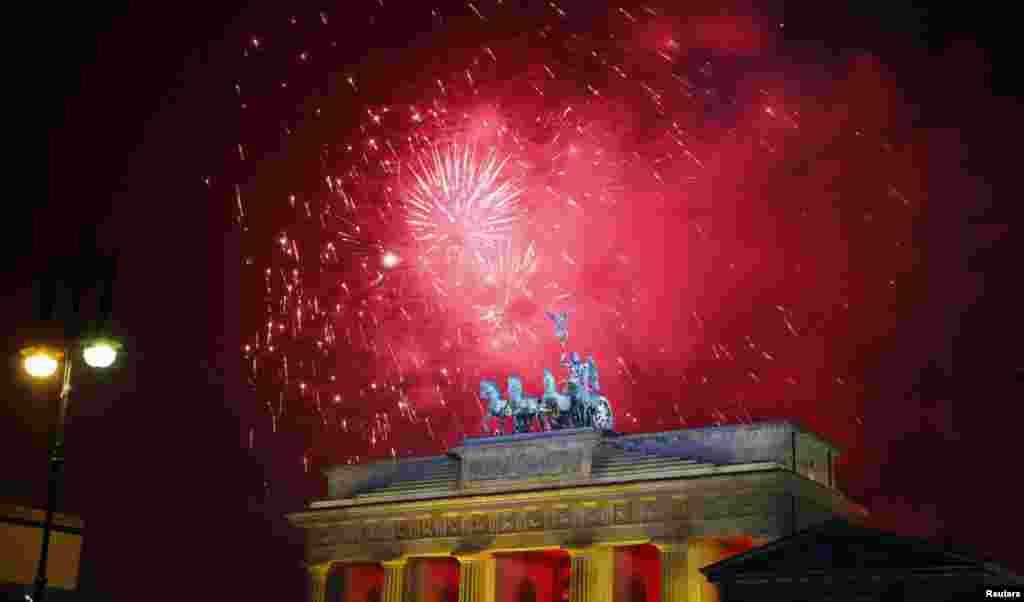Берлин. Бранденбургские ворота