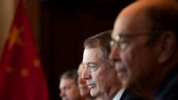 VOA连线(乔栈):白宫公布美中经贸磋商代表团成员名单,莱特希泽与姆努钦领衔