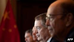 Các quan chức phụ trách đàm phán thương mại với Trung Quốc của Mỹ