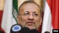 Menteri Luar Negeri Iran, Manouchehr Mottaki