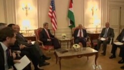 Kerry, Abbas Meet in Paris on Framework for Two-State Solution