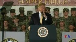 特朗普稱讚美國第七艦隊巡航南中國海