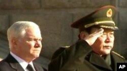 Secretário americano da Defesa, Robert Gates, em Pequim.