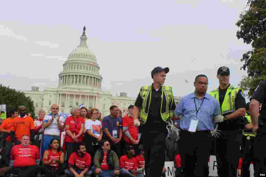 Se considera el acto de desobediencia civil que más arrestos originó como parte del movimiento por los derechos de los inmigrantes.