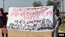 Manifestação em Malanje (Foto de Arquivo)