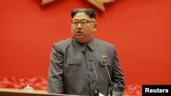 资料照 - 朝鲜领导人金正恩。