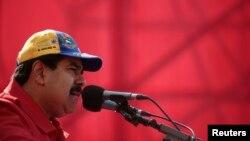 El presidente Maduro contará con recursos para promover las bondades de su gobierno.