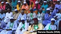 Kungiyar Malaman Makaranta ta jihar Borno a bikin ranar malamai da aka yi a Borno
