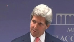 Kerry Urges Fast Israeli-Palestinian Border Agreement