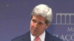 Kerry Urges Fast Israeli-Palestinian Border Agreement