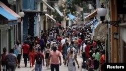 Ulice Havane, 15. juna 2021. Broj smrtnih slučajeva od Kovida na Kubi je u porastu ali je zemlja saopštila da je vakcina koju razvija 92% efikasna u zaštiti.