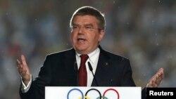 Chủ tịch Ủy ban Olympic Quốc tế (IOC) Thomas Bach