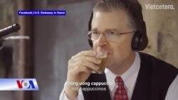 Đại sứ Mỹ tại Việt Nam hát rap chúc Tết