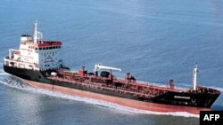French Sea-Tankers group shows the tanker ship Gascogne which has been hijacked off Ivory Coast, port authority officials in the economic capital Abidjan confirmed, February 4, 2013.