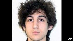 FILE - This file photo provided Friday, April 19, 2013 by the Federal Bureau of Investigation shows Boston Marathon bombing suspect Dzhokhar Tsarnaev.