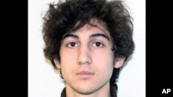 FILE - Boston Marathon bombing suspect Dzhokhar Tsarnaev is seen in a photo, provided April 19, 2013, by the FBI.