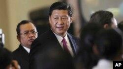 中国国家主席习近平。(2013年10月3日)