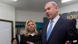 نخست وزیر اسرائیل و همسرش