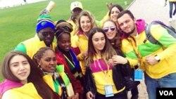 საქართველოს ახალგაზრდული დელეგაცია სოჭში აფრიკელ სტუდენტებთან ერთად 17.10.2017