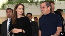 Angelina Jolie en Ecuador