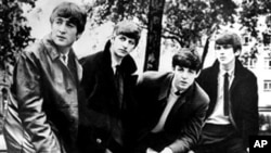 British pop band The Beatles, John Lennon (left) Ringo Starr, Paul McCartney and George Harrison (right) (file photo)