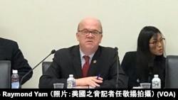 美國國會及行政當局中國委員會主席麥戈文眾議員