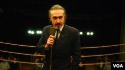 """Brechner dijo que el actor Gary Piquer """"conectó"""" con el cuento del escritor Juan Carlos Onetti."""