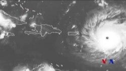 """極度危險的""""颶風艾瑪襲擊加勒比海島嶼"""