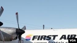 Pesawat jet Boeing 737 dengan 15 penumpang milik maskapai First Air jatuh di Nunavut (21/8).
