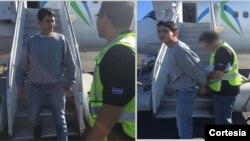 Emilio Coreas-Avelar, de 24 años se encuentra en custodia de las autoridades salvadoreñas. [Foto: Cortesía, ICE].