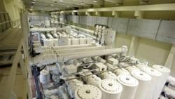 قسمتی از نیروگاه اتمی بوشهر