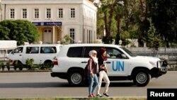 Машина Організації ООН із заборони хімічних озброєнь (Дамаск)